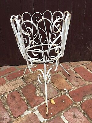 Wrought Iron Pot Stand - Vintage