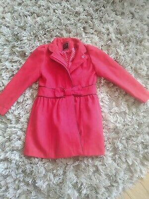 Girls Red Coat Next Age 7-8