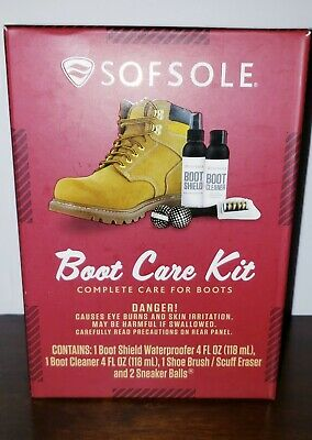 SOFSOLE Boot Care Kit Complete Care For Boots Boot Shield Waterproof New