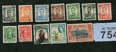Set    stamps of    Southern Rhodesia