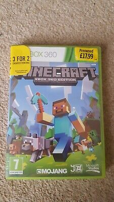 Minecraft (Xbox 360, 2013) - disc scratched but works