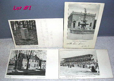 1905 Lot of 4 Pictorial Postcards, Mt. Holly N J Lot #1