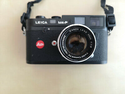 Leica M4-P Black Body