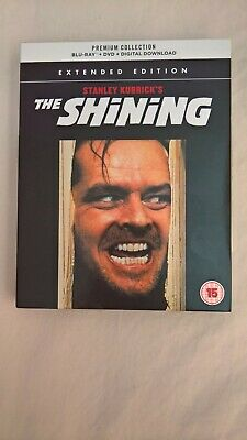 The Shining Extended Version Premium Ed Blu-ray + DVD Inc 4 Cards