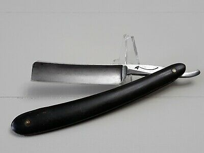 GEORGE WOSTENHOLM & SON TRUE STRAIGHT RAZOR Horn Scales NICE!!!