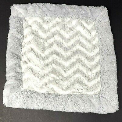 Koala Baby Gray Chevron Zig Zag Lovey Security Blanket Toys R Us Small Square