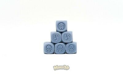 Resin reproduction - Heroquest dice dado dé