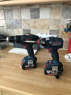 Bosch 18v Impact And Combi Drill