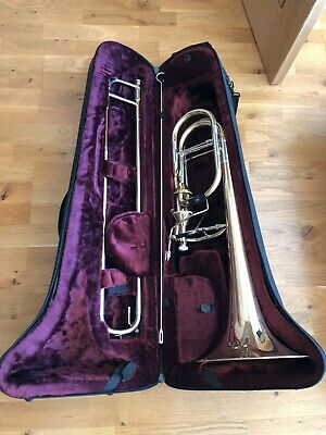 Wessex Bass Trombone with two mouthpieces