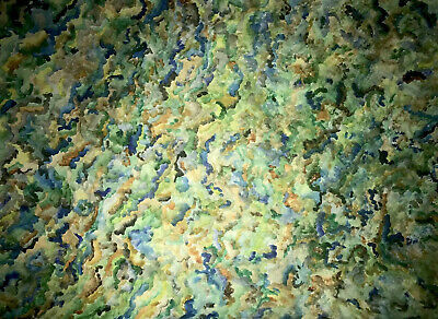 Abstract watercolour painting by Jade Croot. A3 Sized.