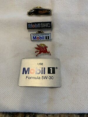 Mobil Oil / Mobil 1 / Pegasus Pins/Metal Sticker
