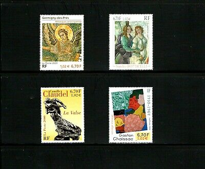 France -- art -- MNH complete set from 2000 -- cv $12.00