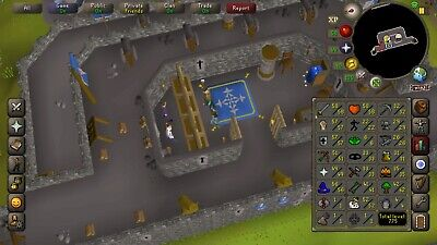 Osrs Med Account + Untradeables