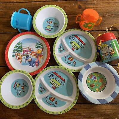 Baby Plates And Drinking Bottles Bunddle - Born To Play, Agata Ruiz, Tommee