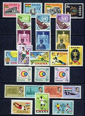 Ghana– 1958-1965  – Collection  – Vf  **