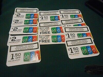 0N! Nicotine Pouches Coupons  (12) Expires 6/30/2020 on! cans