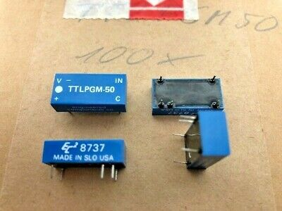 100 Piece TTLPGM50 Engineered Components Co. Relay Vintage