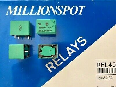 50 Piece H500-F12-2-C - H500F122C - Millionspot Relay REL4016