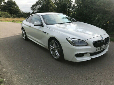 Bmw 640D Diesel Automatic White Low Miles