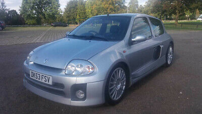 53 RENAULT SPORT CLIO 3.0 V6, RIGHT HAND DRIVE, PIONEER STEREO, 82k MILES