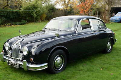 1966 Mark 2 Jaguar 2.4 M/0D - Pretty, Highly Useable, Mot, 4 Previous Owners