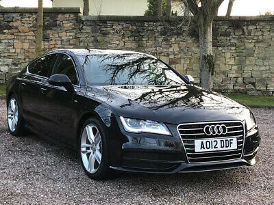 2012 Audi A7 S Line Tdi Auto + Low Miles + Xenons + Sat Nav + H/Leathers