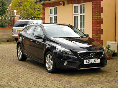 2015 Volvo V40 Cross Country Awd 1.6 D2 Lux Auto 73K Miles Leather Xenon S60 V70