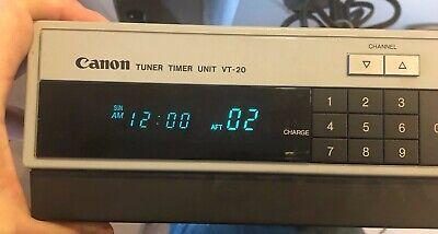 Canon VT-20A Portable Video Tuner Timer Unit Perfect Working Condition