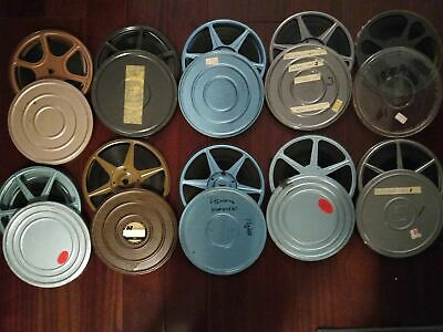 "Mixed Lot of Vintage Home Movie Film - 10 7"" Reels"