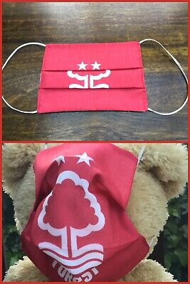 *Nottingham Forest* Cotton Face Mask. Fully Lined *New* NFFC