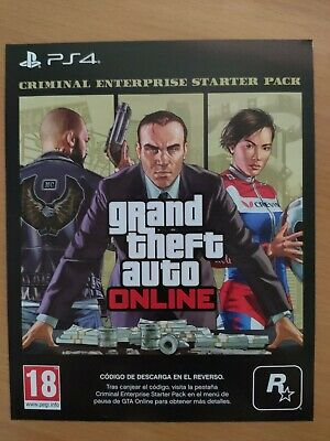 Grand Theft Auto V - GTA 5 - PS4 - Criminal Enterprise Starter Pack DLC
