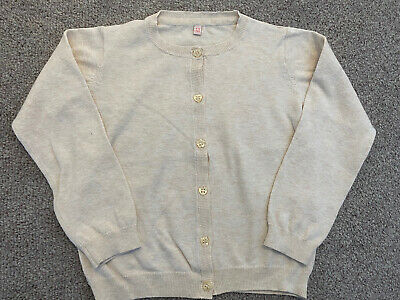 Marks And Spencer Girls Beige Cardigan. Age 4-5 Years. Immaculate Condition