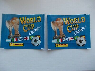 football stickers panini world cup Story x 2 unopened Packets