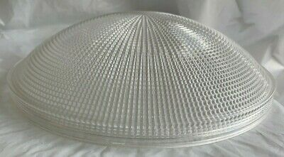 One Holophane Endural #2460 Vintage Industrial Light Shade Diffuser
