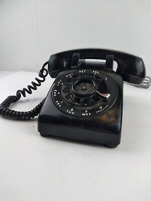 Bell System Western Electric Desk Rotary Telephone with G3 Handset