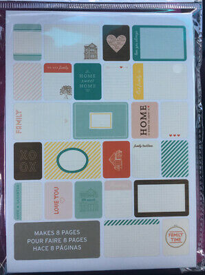 Project Life 97712 Theme Cards-Home 40 Pieces