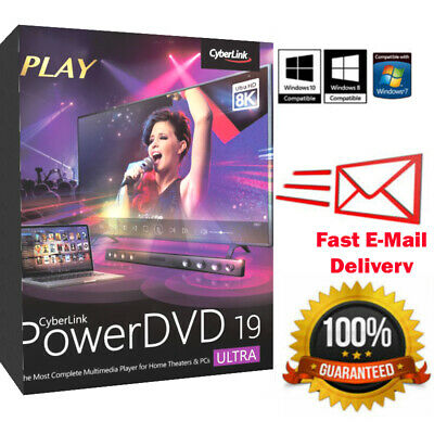 CyberLink PowerDirector Ultimate 19 🔥 Genuine Life time License | FAST DELIVERY
