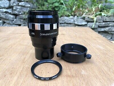 SANKOR ANAMORPHIC 16-F LENS in beautiful condition with clamp