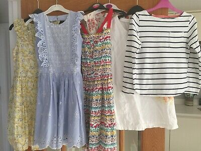 Girls Dresses/Tops/Coat x 7 in Bundle John Lewis, Next, River Island Age 9 years