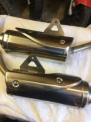 Triumph 675 Street Triple 2009 Used Both Exhausts