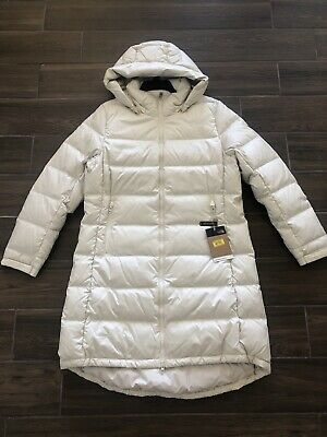 North Face Womens Metropolis III VINWHITE WINTER DOWN  PARKA JACKET SZ S-L $289