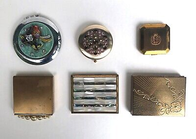 Vintage Compact lot of 6