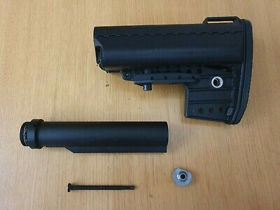 Airsoft M4 Stock And Buffer Tube