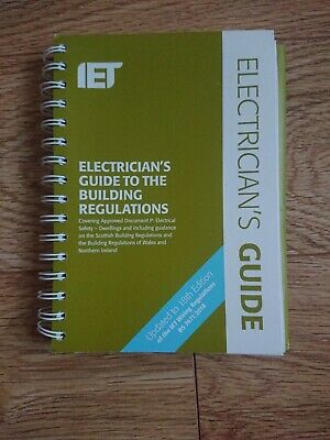 Electricians Guide to The Building Regulations 5th Edition Book (2018, Paperbac…