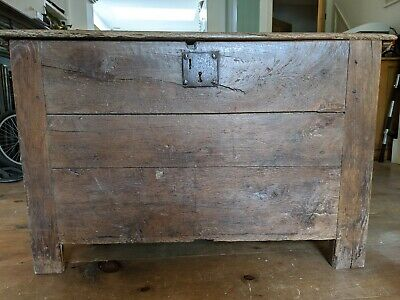 18th century french oak chest