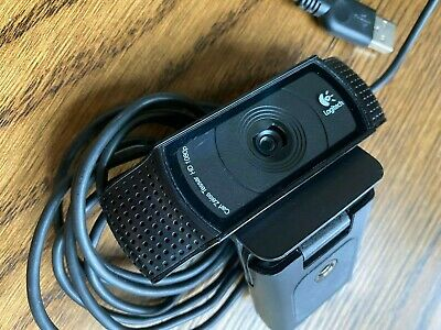 Logitech HD Pro Webcam C920 - Black