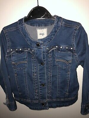 Girls Mayoral Denim Jacket Age 3 Summer