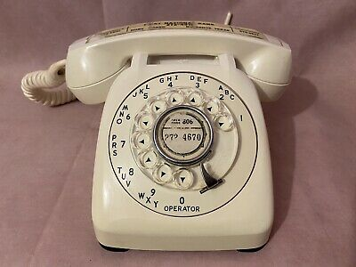 Vintage Automatic Electric Monophone Rotary Dial Business Telephone