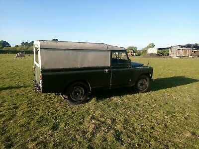 Land Rover series 2 LWB diesel 1960 number 1 off the production line in 1960