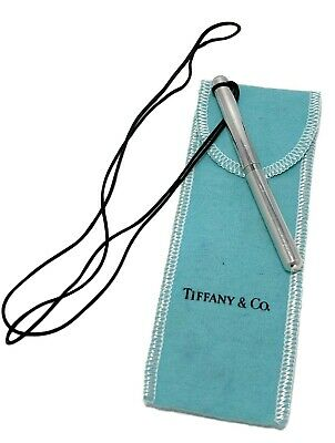 Tiffany & Co. Silver 'Elsa Peretti' Pen On Cord